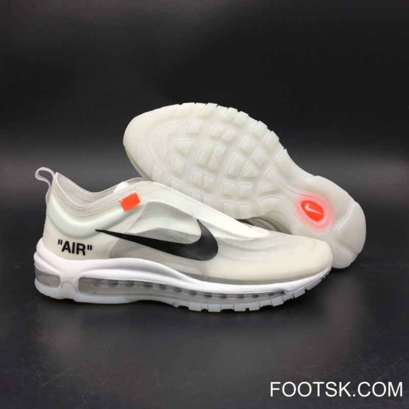 on sale 01f1e 71afa 2018 Top Deals OFF-WHITE X Nike Air Max 97 White