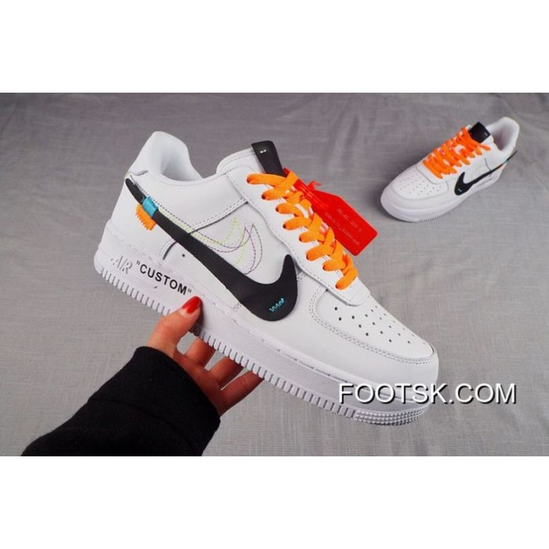 e7890959acf1c3 2018 For Sale Men Nike Air Force 1 Custom Off White SKU 69304-262 ...