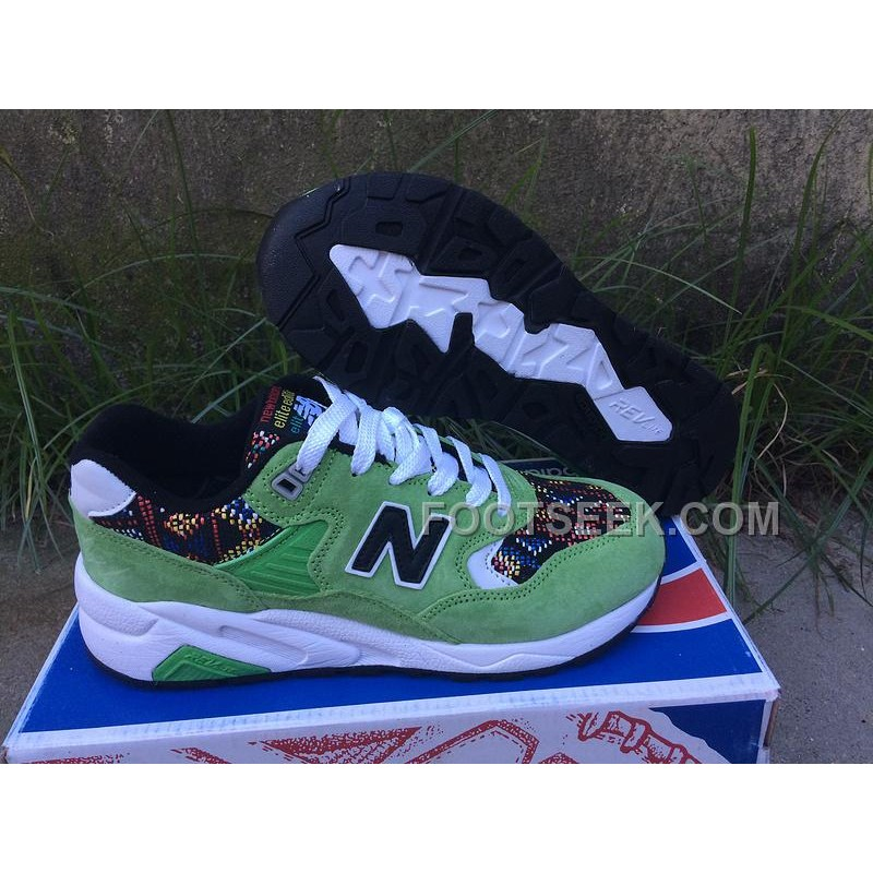 Online New Balance 580 Women Light Green, Price: $66.00 - Discount AUTHENTIC Shoes