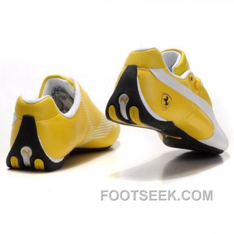... Puma Future Cat GT Ferrari Classic Shoes In Yellow ... 7f181a899