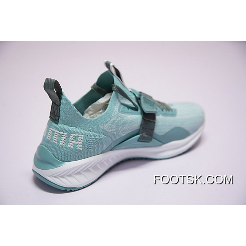 size 40 89d7c f1c28 Copuon Code Women Shoes And Men Puma Ignite Evoknit Lo 2 Light Function  Series Low Jogging Pastel Blue Green Grey 190459-01