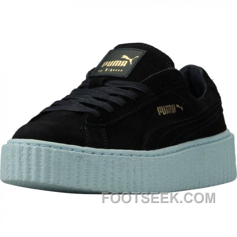 brand new 853bb 136ee PUMA By Rihanna Creepers (Womens) - Peacoat / Cool Blue
