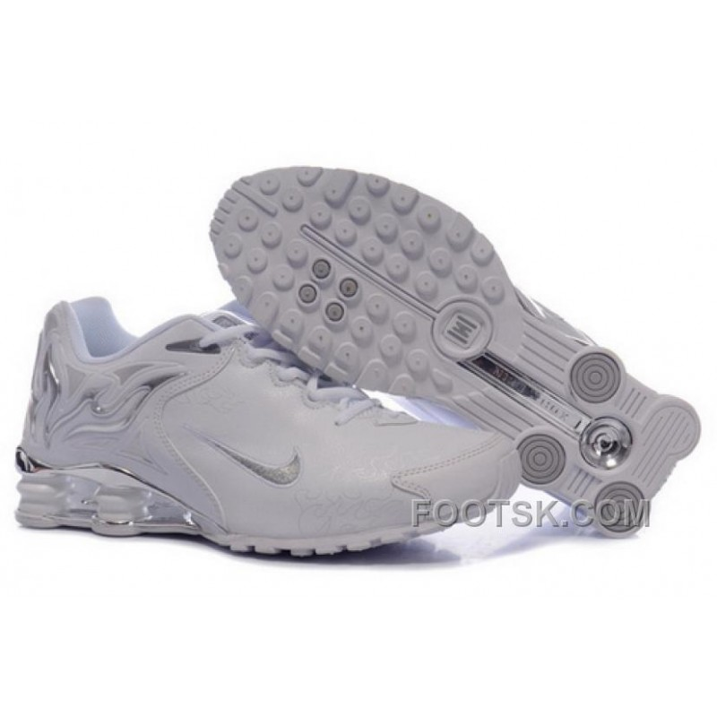 on sale 6fb0f 0d572 Women's Nike Shox Torch Shoes White/Brilliant Silver Authentic