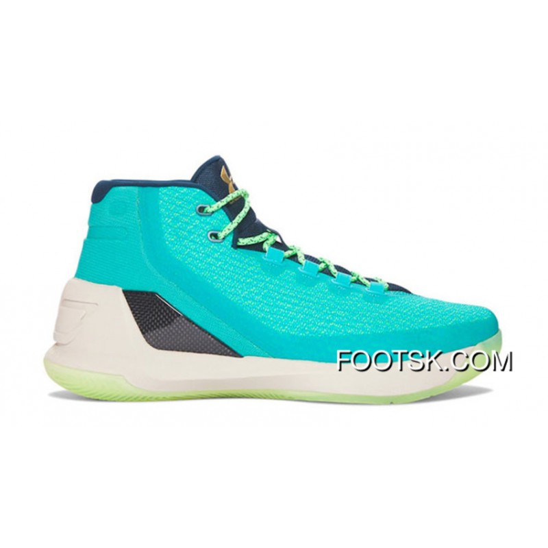 6265543047f 2016 'Reign Water' Under Armour Curry 3 Neptune/Sable-Metallic Gold Top ...