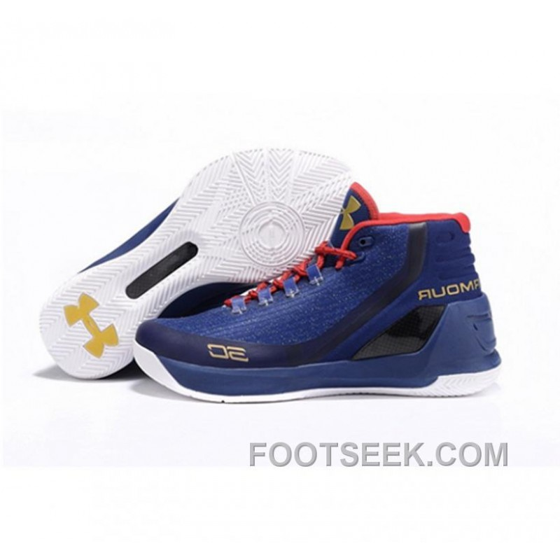 9001216aa1b6 Under Armour Stephen Curry 3 Shoes Blue White Black