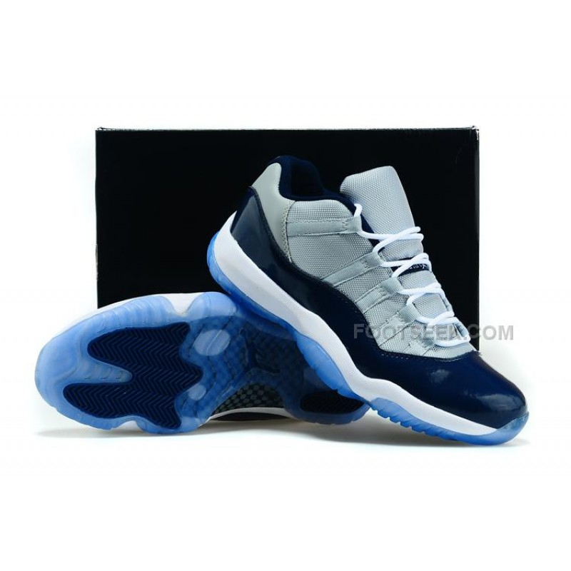 2bb9f15e340b4a ... Girls Cheap Air Jordan 11 GS Low Georgetown Womens Size For Sale ...