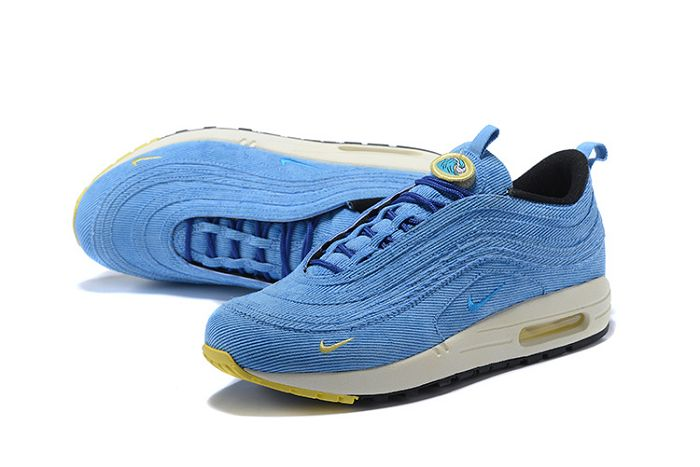 c6a887a290 Women Sean Wotherspoon Nike Air Max 97 Hybrid SKU:148182-256 New Style